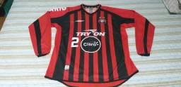 Camisa do Atlético - Claro