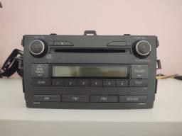 Título do anúncio: Som Central MP3 / CD Original Corolla de 2009 a 2013.