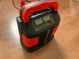Carregador de bateria - 350 w 12 v/24 v 35ah-200ah-  carro, moto, van, caminhão,etc