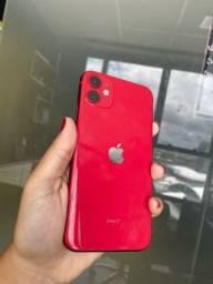 iPhone 11 red 64gb VITRINNI ( 3 meses de garantia )