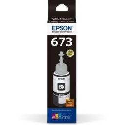 Refil de Tinta - Epson T673120 - Preto