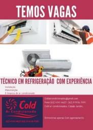 Título do anúncio: Tecnico em Refrigeração
