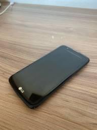 LG K10 LTE + capinha e carregador