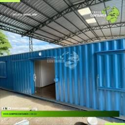 Casa container Dry 30m² dry wall gesso acartonado 02 quartos: À partir de R$ 44.900,00.
