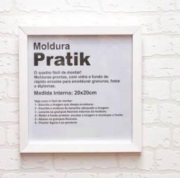 Moldura 20x20 Branca Pratik - Etna