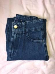 Calça mom jeans 34 NOVA