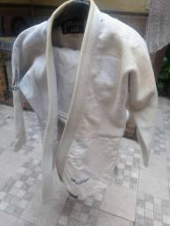 Quimono trançado branco