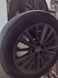 Título do anúncio: Vendo roda de Corolla original. 2017
