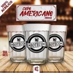 copo americano personalizado