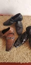 3 pares de sapatos marca Sérgios