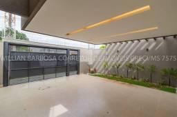 Linda casa de alto padrão com fachada imponente e moderna! No Rita Vieira 1