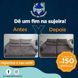 Título do anúncio: Higienização de sofás/ tecidos