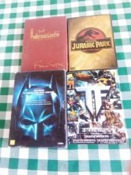 Box de DVD todos são trilogia bem conservados