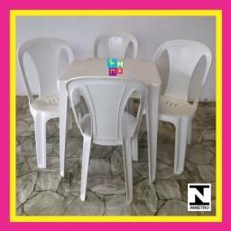 Título do anúncio: Conjunto Bistrô Piatã - Branco ou Preto