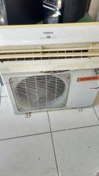Título do anúncio: Ar condicionado Hitachi 12.000 BTUs cobre