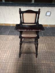 Raríssima cadeira de bebe com palhinha