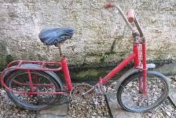 """Antiga bicicleta aro 20"""" Berlineta com dobradiça"""