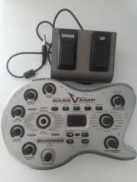 Pedaleira Behringer Bass V-amp