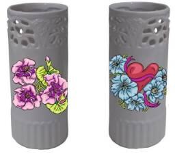 Vaso Cerâmica Personalizado De Acordo C/ Ambiente Do Cliente