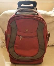 Mochila com Rodinhas para Notebook Até 15,4 Vermelha - Sumdex