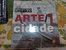 Título do anúncio: Livro intervenções urbanas Arte/Cidade