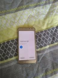 J7 Neo 16gb dourado com tv digital semi novo