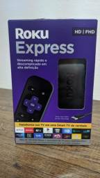 Roku Express - Streaming player Full HD. Transforma sua TV em Smart TV.