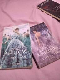 Livros da saga a seleção
