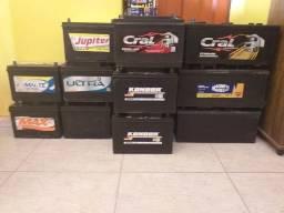 Baterias seminovas de caminhão 150ah, por apenas R$ 230,00 a vista na troca