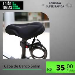 Título do anúncio: Capa de Banco Selim para Bicicleta em Gel Almofada Anatômica