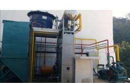 Máquina de gelo escama 5 toneladas freon, não é amônia.