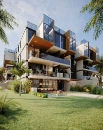 ozk- Beira mar! Lançamento apartamento luxo 36m²-Ipojuca-vendo