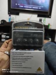 Título do anúncio: Microamp Behringer HA400