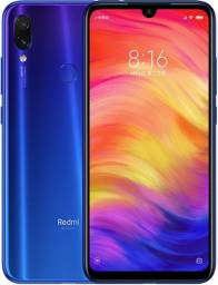 Xiaomi Redmi Note 7 Azul Neptune, 4GB Ram, 64GB men. Interna, câmera de 48Mpx.