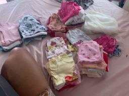 Vende esse lote de roupa de menina de 1ano até 2 ano
