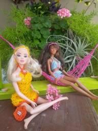 Título do anúncio: Roupa de Barbie em crochê