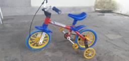 Título do anúncio: Vendo bicicleta infantil.