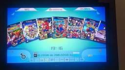 HD externo 500 GB com jogos de Wii e GameCube mais emuladores