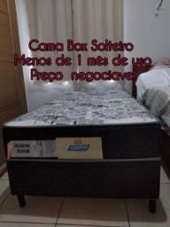 Título do anúncio: Vende-se cama Box Solteiro