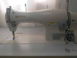 Máquina costura reta singer industrial