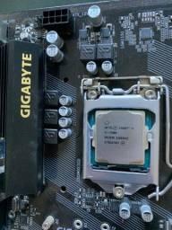 Processador i5-7400 + Placa-mãe B250M-D3H