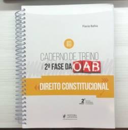 Caderno de treino da 2° fase Constitucional Flavia Bahia