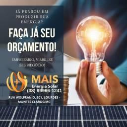 Título do anúncio: Energia Solar é na *Mais Energia*