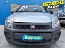 Título do anúncio: Fiat Strada Hard Working Cs 1.4 8V 2020