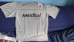Título do anúncio: Camisa Oficial Corinthians Original Nike tam. G Zerada ainda na etiqueta