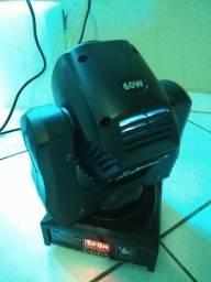 Moving Head 60w LED - Mais Potente