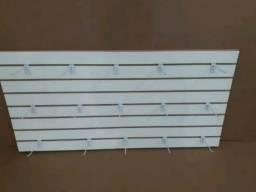 Painel Canaletado com 15 ganchos em 12x sem juros no cartaõ