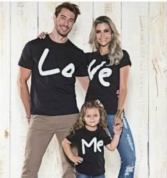 Camisetas love, as originais