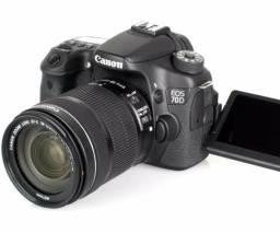 Canon 70d + Lentes