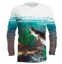 2b2f70023 Camisa de pescaria personalizada (Fabrica)